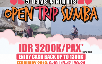 open trip ke sumba february