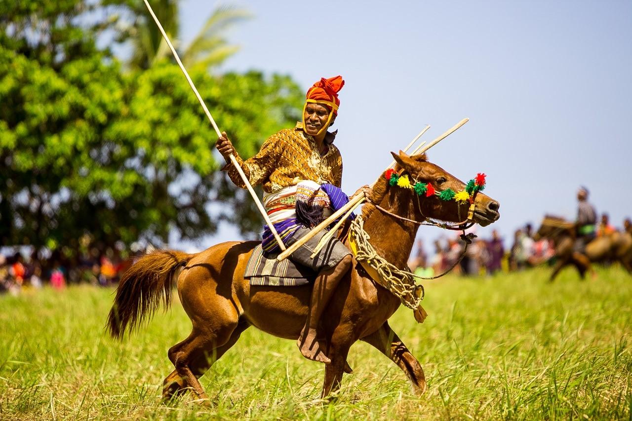 Ratusan Kuda AKan Ramaikan Festival Pasola 2020 di Sumba